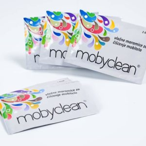 Mobyclean wet wipes for cleaning screens of mobile devices 100 pieces