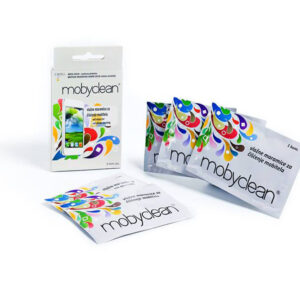Mobyclean wet wipes for cleaning screens of mobile devices 5 piece
